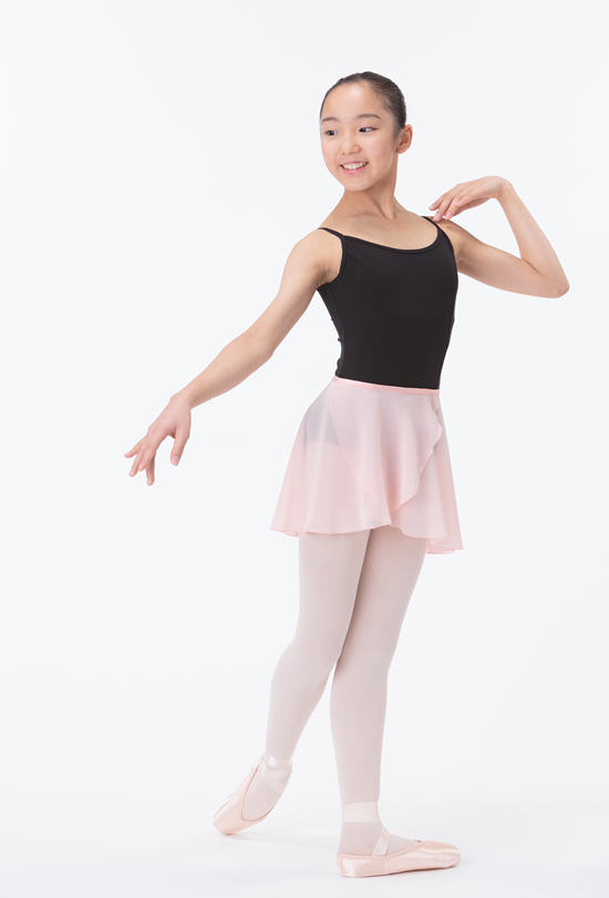 b0509b75d Dancewear   Junior Chiffon Wrap Skirt 1st Line